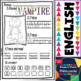 Halloween Word Work Set for Little Kids (Printables)