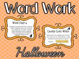 Word Work - HALLOWEEN