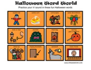 Halloween Word World