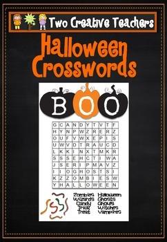 Halloween Wordfinds