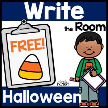 Halloween Write the Room: Free