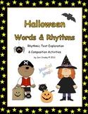 Halloween Words & Rhythms - Rhythm Literacy & Composing Activities