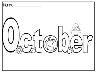 Halloween Words To Color