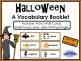 Halloween Words Writing Booklet