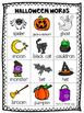 Mini Word Wall - Halloween Themed