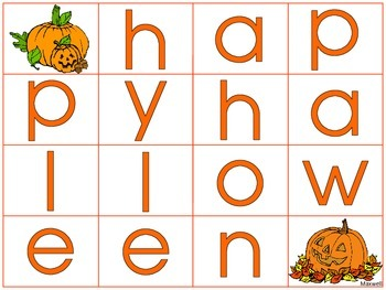Halloween Words to Make