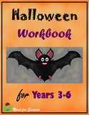 Halloween Workbook for Years 3-6