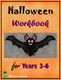 Halloween Workbook for Years 3-6