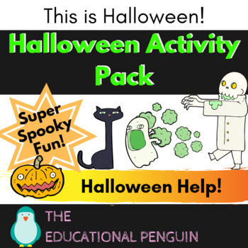 Halloween Worksheet Activity Pack