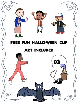 Halloween Worksheet Borders and Halloween Clip Art