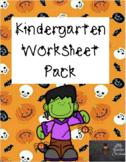 Halloween Worksheet Pack
