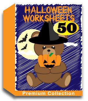 Halloween Worksheets for Kindergarten (50 Worksheets)