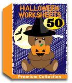 Halloween Worksheets for Kindergarten (50 Worksheets)