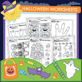 Halloween Worksheets - 37 Pack