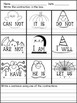 Halloween Worksheets for Morning Work - Print and Go