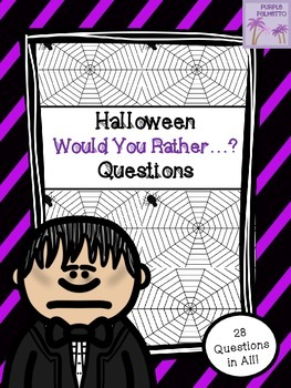 Halloween Would You Rather....? Questions