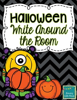 Halloween Write Around the Room
