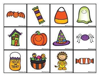 Halloween Write and Wipe Activity Mat Freebie