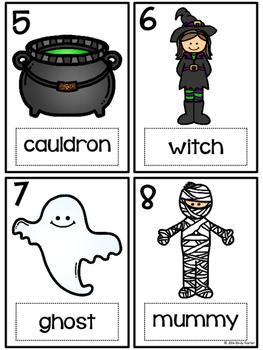 Halloween Write the Room