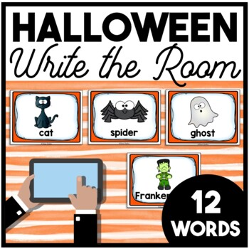 Halloween Write the Room | Boom Cards Included