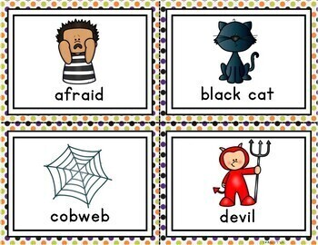 Halloween Write the Room A-Z
