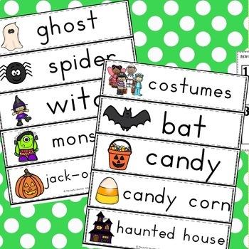 Halloween Writing Halloween Math