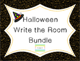 Halloween Write the Room Bundle