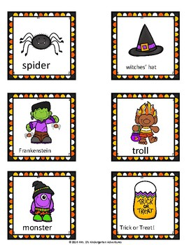 Halloween Write the Room - Differentiated