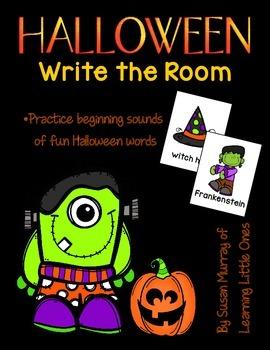 Halloween Write the Room *FREEBIE!!*