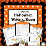 Halloween Write the Room Kindergarten - 2 (Differentiated)