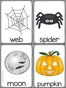 Halloween Write the Room Kindergarten through 2 Differentiated