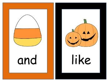 Halloween Write the Room Sight Words