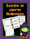 Halloween Write the Room-Spanish/ Escribe el cuarto