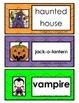 Halloween Write the Room and ABC Order Cards
