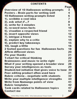 Halloween Writer Tricks, Treats & Task Cards!