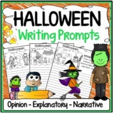Halloween Writing Prompts {Narrative Writing, Informative & Opinion Writing}