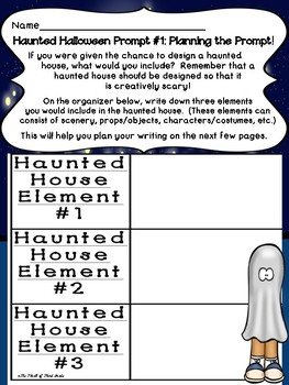 Halloween Writing #2: Haunted Halloween!