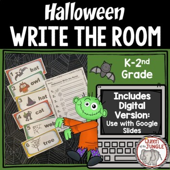 Halloween Writing Write the Room
