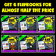 Halloween Science Activities BUNDLE (Animal Research Report Flipbooks)
