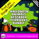 Science Halloween Activities BUNDLE (Animal Research Repor