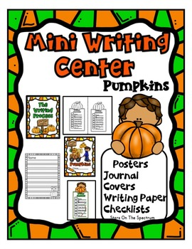 October Mini Writing Centers * First Grade Writing * Bats, Spiders, Pumpkins