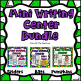October Writing Centers * Halloween Writing * Bats, Spider