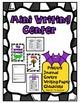 October Mini Center * Kindergarten Writing * Bats, Spiders