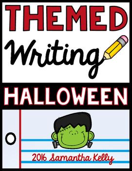 Halloween Writing