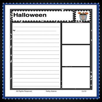 Halloween Writing