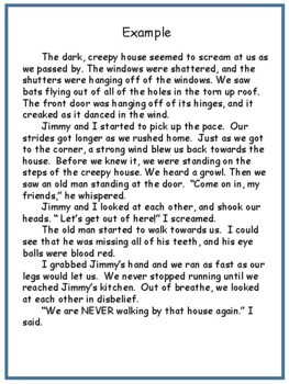 Halloween: Writing A Spooky Story