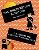 Halloween Writing Activities