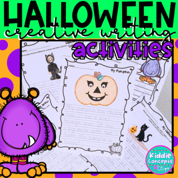Halloween Writing Activities
