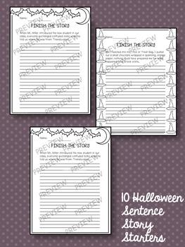 Halloween Writing Activities Bundle