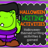 Halloween Writing Activities Pack